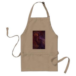 Fantasy Buckskin Horse in Purple by Leni Tarleton Standard Apron