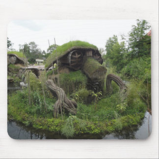 Fantasy building mouse pad