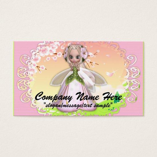 Fantasy Business Card :: Cherry Blossom Fairy 2