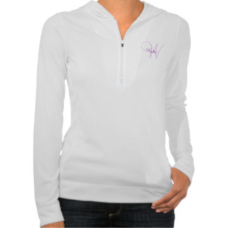 Fantasy Butterfly Women's half zip hoodie