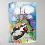 Fantasy Castle Print