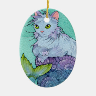 Fantasy Cats Affirmation  Card - Permanence Christmas Ornament