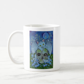 Fantasy Cats Oracle Affirmation - Death Coffee Mug
