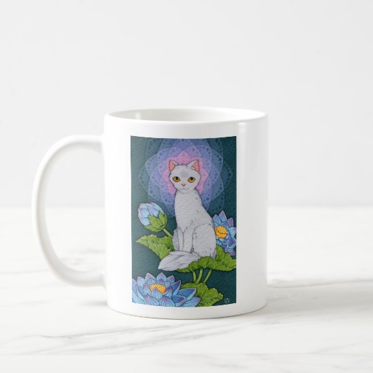Fantasy Cats Oracle Affirmation - Mindfulness Coffee Mug