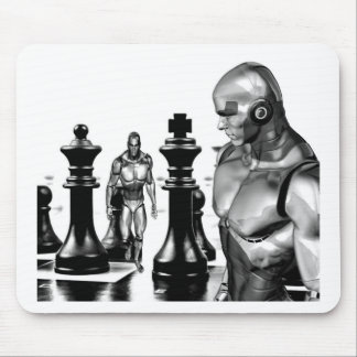 Fantasy chess mouse pad