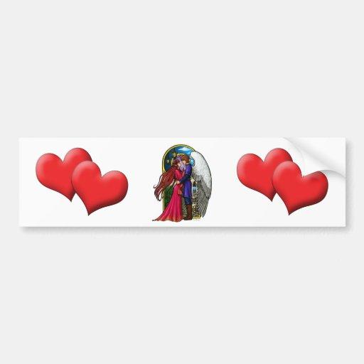 Fantasy Couple Bumper Stickers