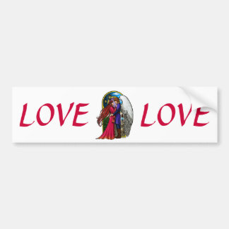 Fantasy Couple Bumper Sticker