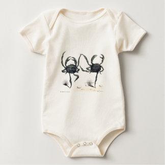 FANTASY CRAB DANCE BABY BODYSUIT