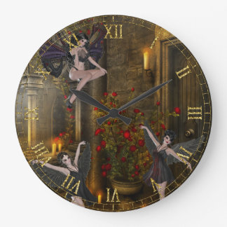 Fantasy Dancing on the Balcony Wall Clock