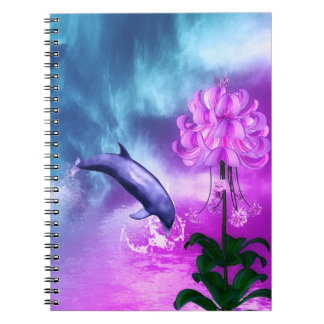 Fantasy Dolphin Notebooks