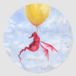 Fantasy Dragon Art Stickers - Up in the Air