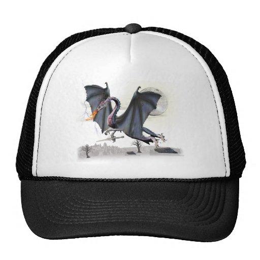 Fantasy dragon cap