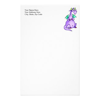 Fantasy Dragon Stationery Design