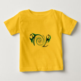 Fantasy Dragon Swirl Baby T-Shirt