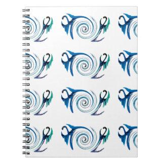 Fantasy Dragon Swirl Notebooks
