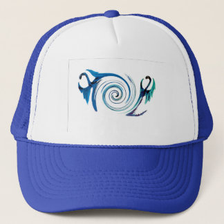 Fantasy Dragon Swirl Trucker Hat