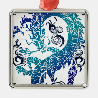 Fantasy Dragon Throne Christmas Ornament