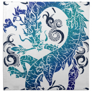 Fantasy Dragon Throne Napkin