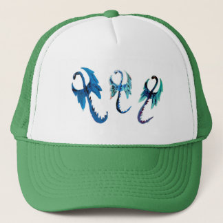 Fantasy Dragons Art Trucker Hat