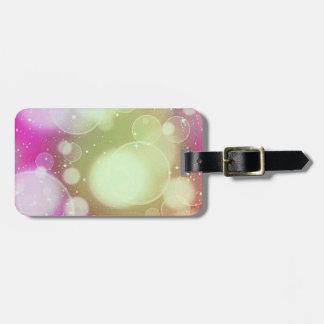 Fantasy dream bubbles luggage tag