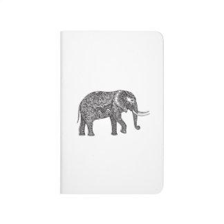 Fantasy Elephant Doodle Journal