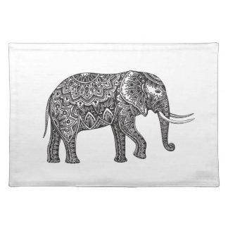 Fantasy Elephant Doodle Placemat