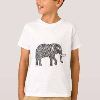 Fantasy Elephant Doodle T-Shirt
