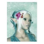 Fantasy Elf Art Postcard - Elven Princess PostCard