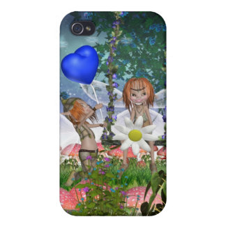 Fantasy Elves - Fantasy Art iPhone 4 Cases