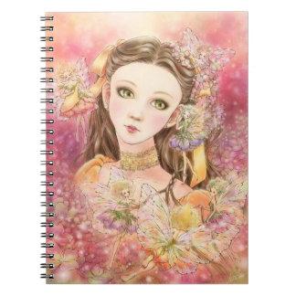 Fantasy Fairy Art Notebook