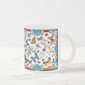 Fantasy Fields Frosted Glass Coffee Mug