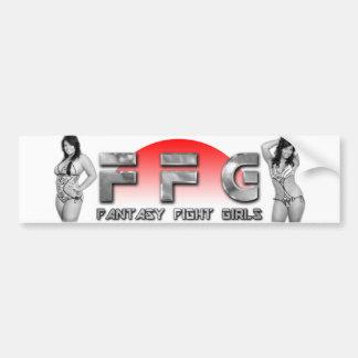 Fantasy Fight Girls Bumper Stickers