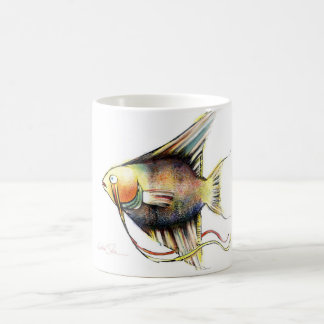 Fantasy Fish: Angelo Basic White Mug