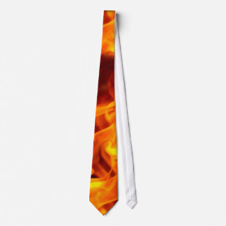 FANTASY FLAMES Burning Hot Fashion Tie