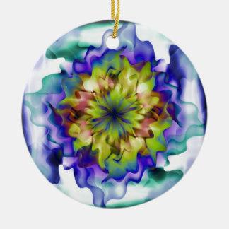 Fantasy flower christmas ornaments