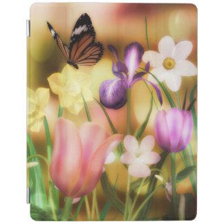 fantasy flower garden iPad case iPad Cover