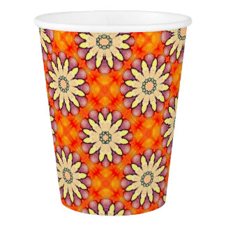 Fantasy Flowers! Paper Cup