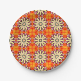 Fantasy Flowers! Paper Plate
