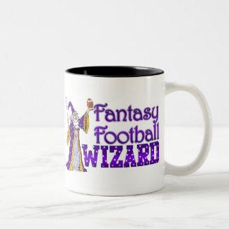 Fantasy Footall Wizard Mug