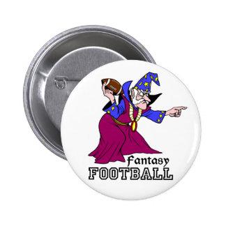 Fantasy Football 6 Cm Round Badge