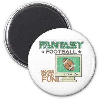 Fantasy Football 6 Cm Round Magnet