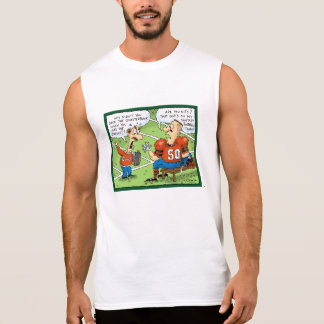 Fantasy Football cartoon Sleeveless Shirt