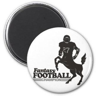 Fantasy Football Champ 6 Cm Round Magnet