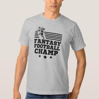Fantasy Football Champ funny men's shirt