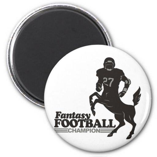 Fantasy Football Champ Refrigerator Magnets