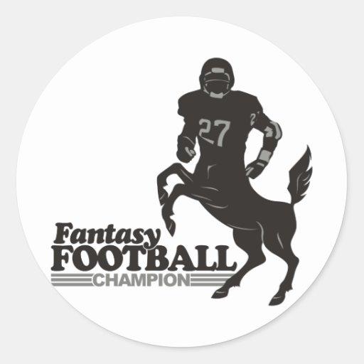 Fantasy Football Champ Sticker