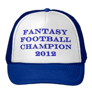 Fantasy Football Champion 2012 Mesh Hats