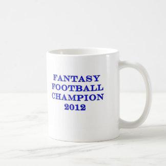 Fantasy Football Champion 2012 Coffee Mug