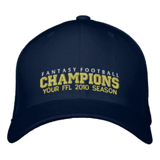 Fantasy Football  Champion Embroidered Hat