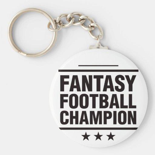 Fantasy Football Champion! Keychain